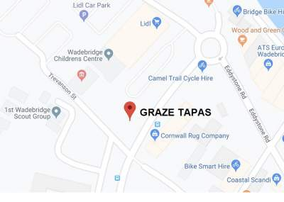 Location of Graze Tapas